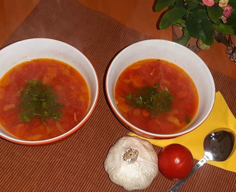 paradajkovo cicerova polievka