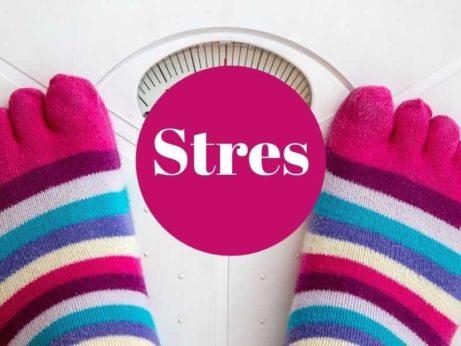 stres a priberanie na vahe