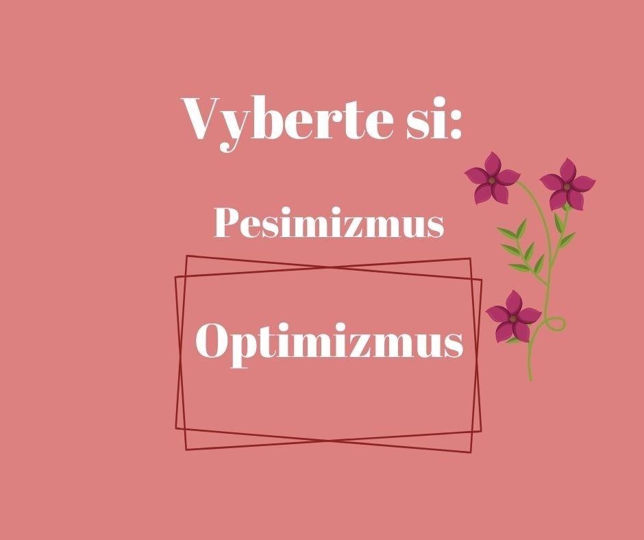 optimizmus a pesimizmus