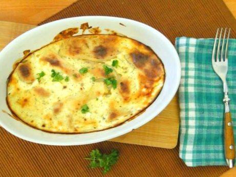 zapecene zemiaky s vajickom
