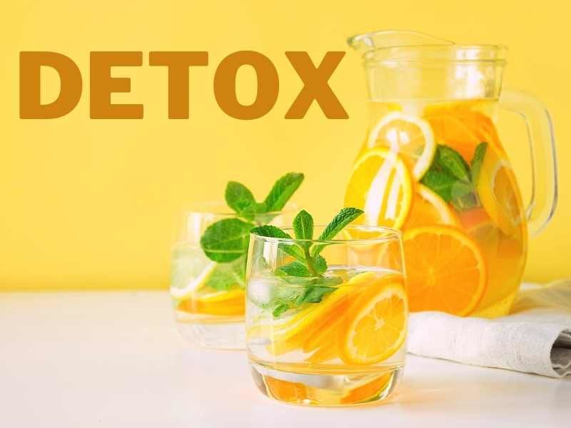 napoje a detox tela