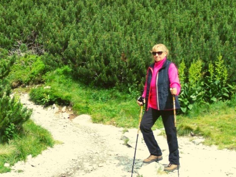 zena v horach