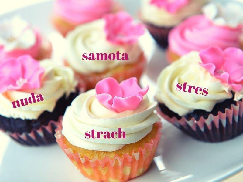 kolace a emocie emocne jedenie