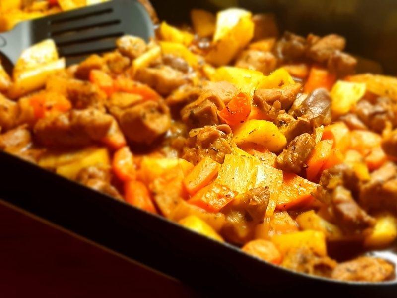 morcacie maso so zeleninou