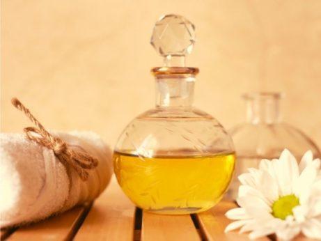 uvolnenie stresu vo wellness oleje uterak kvety