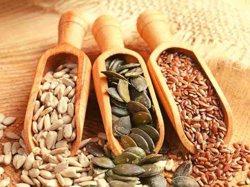 semena lanove, slnecnicove a tekvicove